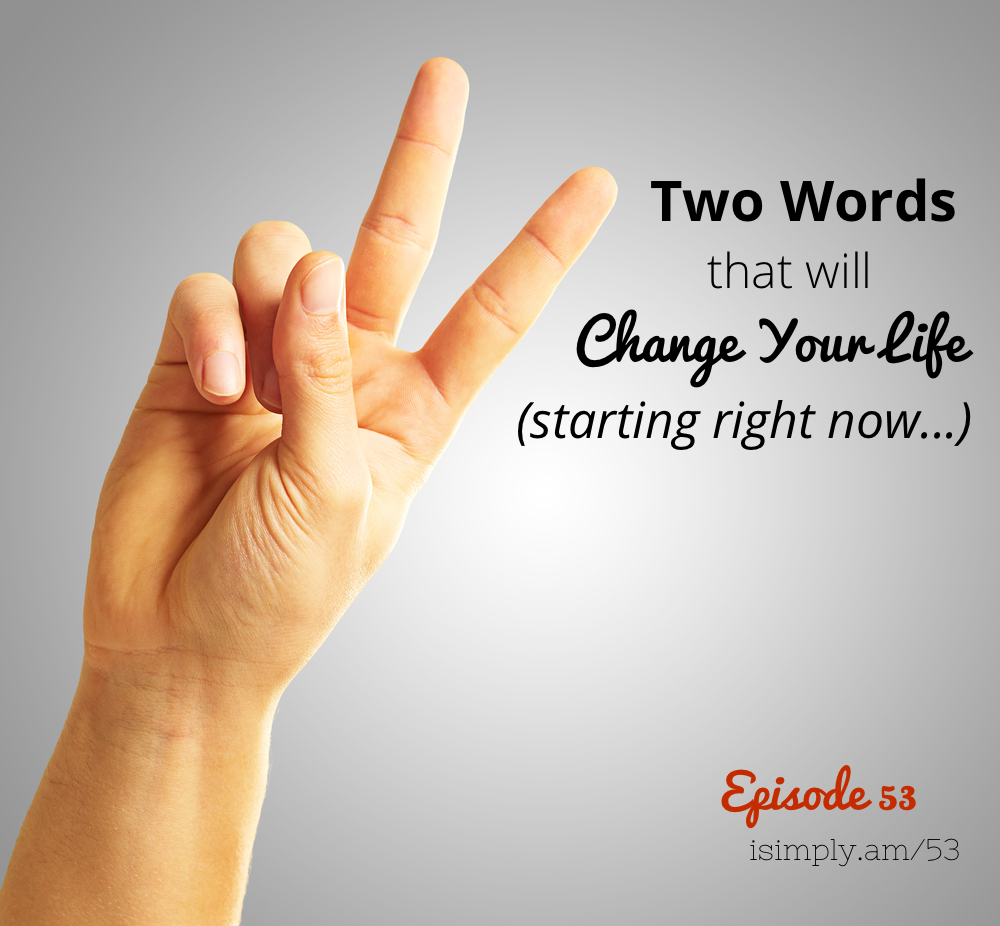 Words that change lives